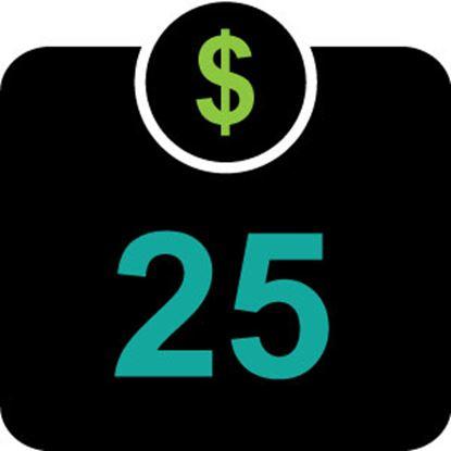 $25 T -Bucks