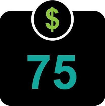 $75 T-Bucks plus $3