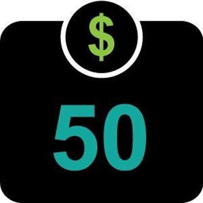 $50 T -Bucks plus $2